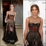 "Emma Watson  In Christian  Dior  at  2016 Harper's Bazaar  ""Women Of The Year"" Awards"