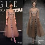 Felicity Jones  In  Valentino At  Rogue One: A Star Wars Story Fan Event in Mexico City