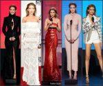Gigi Hadid Outfits At The 2016 American Music Awards