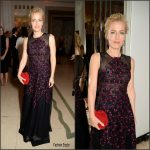 Gillian Anderson  In  Sophia Kah  At The  2016  Harper's Bazaar Women of the Year Awards