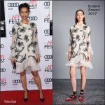 Gugu Mbatha-Raw In Erdem At  Miss Sloane AFIFEST Premiere