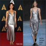Gugu Mbatha-Raw  In Narciso Rodriguez   At  2016 Governors Awards