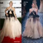Gwen Stefani  In Marchesa  At Glamour Women Of The Year 2016