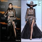 Hailee Steinfeld  In Ralph and Russo  At The  Edge of Seventween LA Screening