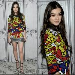 Hailee Steinfeld In Reem Acra At AOL Build Series in New York