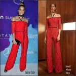 Jasmine Sanders  In Alexis   At 2016 StyleMakers Awards