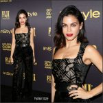 Jenna Dewan-Tatum  In Zuhair Murad At HFPA & InStyle Celebrate The 2017 Golden Globe Award Season