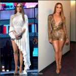 Jennifer Lopez In Labourjoisie & Elie Saab  At The 2016 Latin Grammy Awards in Las Vegas