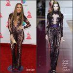 Jennifer Lopez  In Zuhair Murad At  2016 The Latin Grammy Awards in Las Vegas