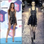 Jourdan Dunn  In Julien Macdonald  At The 2016 MTV Europe Music Awards