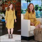 Julianne Moore In Co  At The  Ellen Show