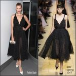 Karlie Kloss  In Dior At  2016 Guggenheim International Gala Made Possible By Dior
