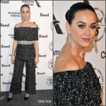 Katy Perry  In Lela Rose  At Capitol Records 75th Anniversary Gala