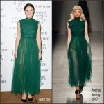 "Keira Knightley  In Rochas  At  2016 Harper's Bazaar ""Women Of The Year"" Awards"
