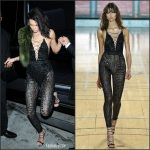 Kendall Jenner  In Julien Macdonald At Her  21st Birthday Party