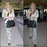Kesha  In Stella McCartney At LAX Airport in Los Angeles