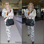 Kesha  In Stella McCartney At LAX Airport in Los Angeles