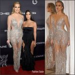 Khloe & Kourtney  Kardashian At  The  2016 Angel Ball In New York