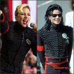 Lady Gaga Wears Michael Jackson Jacket  At  Hillary Clinton Rally