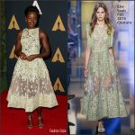 Lupita Nyong'o  In Elie Saab  At The 2016 Governors Awards