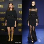 Marion Cotillard  In Andrew Gn At HFPA & InStyle Celebrate The 2017 Golden Globe Award Season