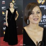 Marion Cotillard   In Armani Prive  AT The  Allied ' Madrid Premiere