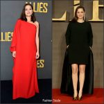 Marion Cotillard in Christian Dior Couture & Stella McCartney at the 'Allied' Paris & London Premieres