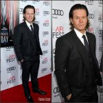 "Mark Wahlberg  In Dolce and Gabbana  At AFI FEST 2016  ""Patriots Day ""Premiere"