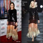"Michelle Monaghan  In Blumarine  At AFIFEST 2016  ""Patriots Day Movie"" Premiere"