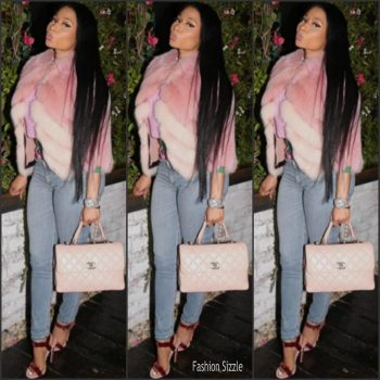 nicki-minaj-in-j-mendel-jacket-instagram-pic-700×700