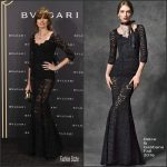 Nieves Álvarez  In Dolce and Gabbana At The  Bulgariy Roma After Party in Spain