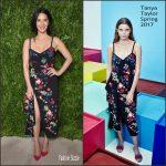 Olivia Munn In Tanya Taylor  At The 2016 CFDA/Vogue Fashion Fund Awards