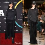 Rihanna  In Vetements x  & Juicy Couture   At The 2016 FN Achievement Awards