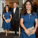 Salma Hayek in Stella McCartney at the Sonita London VIP Screening