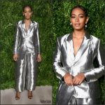 Solange Knowles In  Off-White  At The 2016 CFDA/Vogue Fashion Fund Awards