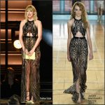 Taylor Swift  In Julien Macdonald  At The 50TH CMA Awards