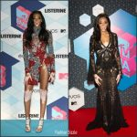 Winnie Harlow  In Elie Saab &  Roberto Cavalli  At The 2016 MTV Europe Music Awards