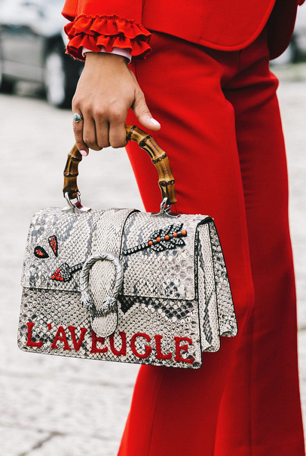 Gucci Dionysus Python Top Handle Bag ($4,980)