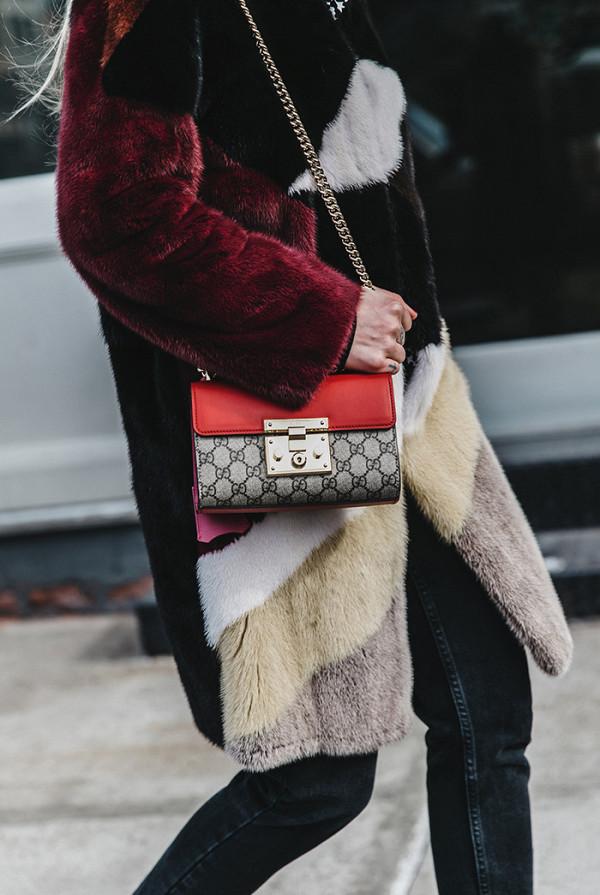 Gucci Padlock GG Supreme Shoulder Bag ($1650)