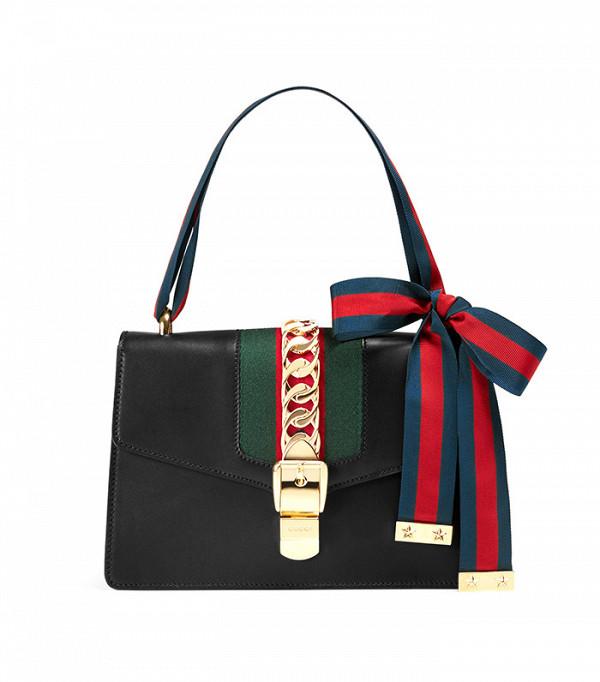 Gucci Sylvie Leather Shoulder Bag ($2,490)