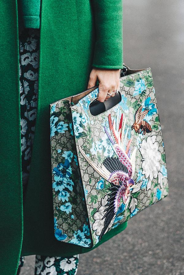 Gucci X1GG Floral Print Tote ($2,490)