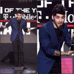 Zayn Malik In Versace  At The 2016 American Music Awards