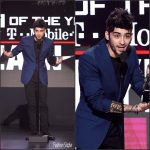 Zayn Malik In Versace  At The 2016 American Music Awards