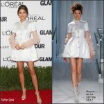 Zendaya  In Reem Acra At Glamour Women Of The Year 2016