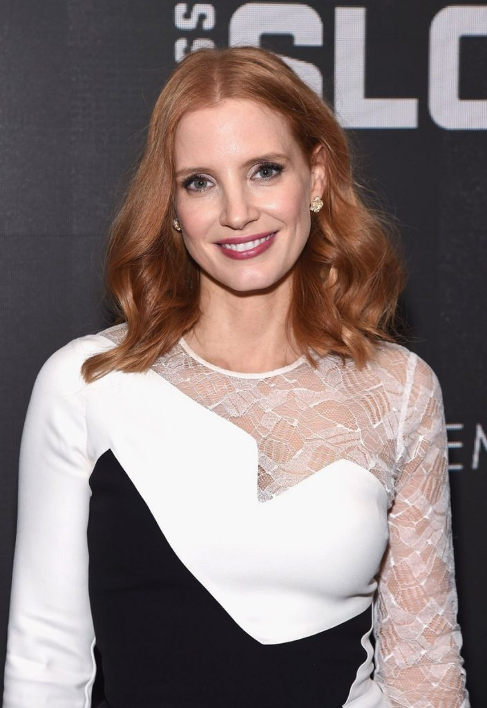 jessica-chastain-in-elie-saab-at-the-miss-sloane-new-york-premiere
