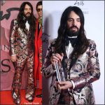 Alessandro Michele In Gucci At The 2016 British Fashion Awards