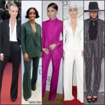 Best Dressed Women In  Suits on The Redcarpet in 2016