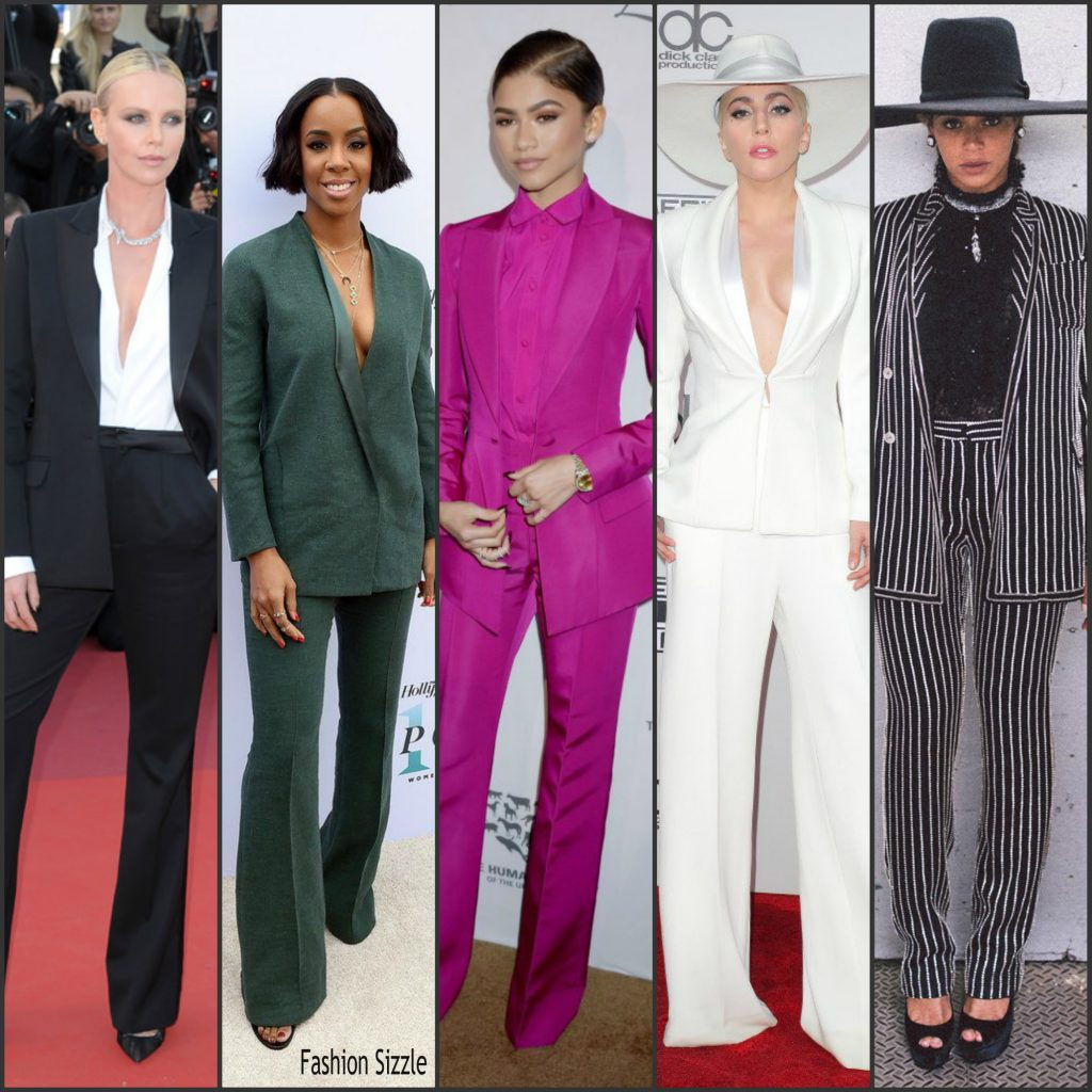 Best Dressed Women In Suits On The Redcarpet 2016
