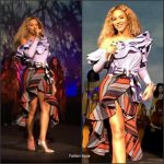 Beyonce In  Johanna Ortiz  At  Parkwood Entertainment Holiday Party
