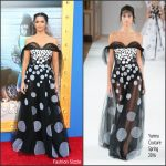 Camila Alves  In Yanina Couture At Sing   LA Premiere